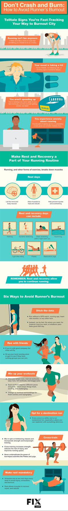 Runner's burnout can happen to anyone and it can be a frustrating experience. Our guide helps you understand what runner's burnout is, how to recognize the signs you are heading for it, and what to do to get back on track. From running with friends to ditching the data, we outline six ways to get out of your running slump and lacing up your shoes again.