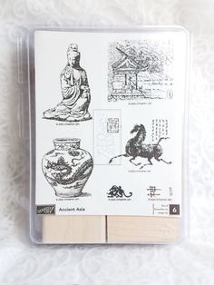 Stampin' UP Ancient Asia Rubber Stamp Set  by MyCreativePossession