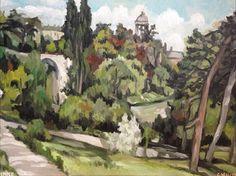 """Saatchi Art Artist Christophe Williart; Painting, """"Temple"""" #art"""
