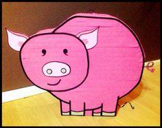Pig piñata  by PleasantlyPinatas on Etsy, $32.99