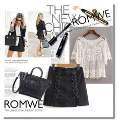 """Bez naslova #72"" by ermina-camdzic ❤ liked on Polyvore featuring romwe"