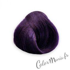 violet prune coloration cheveux directions semi permanente color mania http - Coloration Permanente Noir