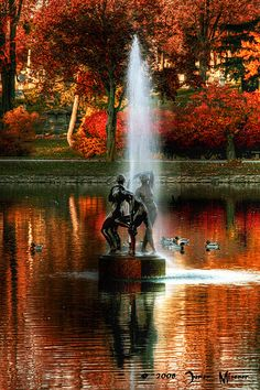 Fountain, Buffalo, New York