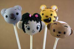 Cupcakes Take The Cake: 2012 cake pops, plus hot air balloon, owl, Hello Kitty, Ni Hao Kai-lan, Elmo, dinosaur, maltipoo, snowmen and more