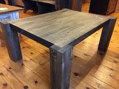 Whit pine coffee table. Massif look  Pro-pin.ca