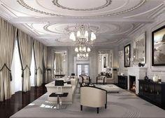 Reception Room - Cgi