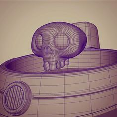 A friend of mine wanted to see the wires from this model so I though It could be interesting for others too. #3D #3dsculpt #3dsculpture #wireframe #3dmodel #characterdesign #character #soviet #astronaut #cartoon #art #maya #autodesk #polygon