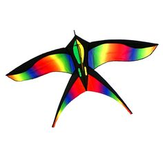 New Fashion Wind Indicator Soft Rainbow Sport Cometa 3d Traditional Chinese Kites Cometas Inflables Parasol Playa Large Inflatable Animals Latest Technology Kites & Accessories