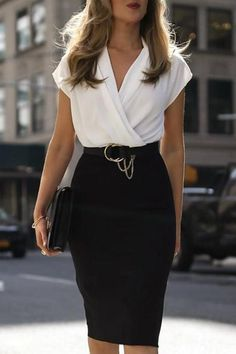 Nice 46 Fashionable Work Outfit Ideas To Look Cool Summer Work Outfits, Casual Work Outfits, Business Casual Outfits, Business Dresses, Office Outfits, Work Attire, Classy Outfits, Sexy Business Attire, Work Casual