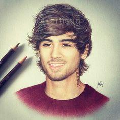 Zayn Malik art
