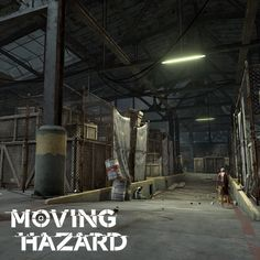 Moving Hazard - Warehouse, Kyle Bromley on ArtStation at https://www.artstation.com/artwork/R5g9E
