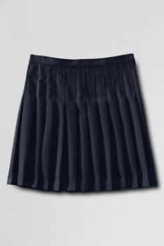 School Uniform Solid Pleated Skirt from Lands' End