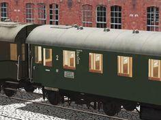 Ergänzungsset 1: Ganzstahlwagen Bauart 1928, 3. Klasse der DRG und 2. Klasse der DB