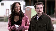 Dania Ramirez as Blanca Selgado and Robert Iler as A.J. Soprano in Episode 'Chasing It'