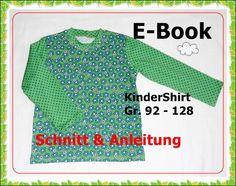 E-Book - Shirt für Kinder, Größe 92 - 128 - StoffAkzente Taschen und Accessoires
