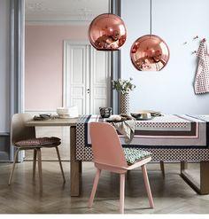 Copper lamps!