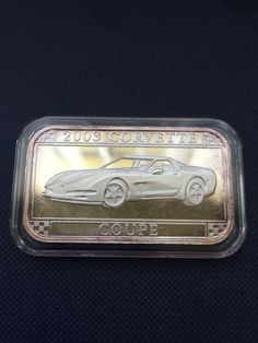 1961 Corvette 1 Oz Pure Silver Bar Official Gm Licensed Suitable For Men And Children Women