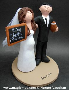 pregnant wedding cake toppers 1000 images about football wedding cake toppers on 18719