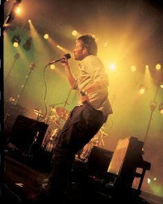 Thom Yorke - #Radiohead - Coliseu dos Recreios, Lisboa, july 2002 By Rita Carno