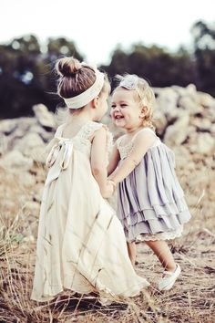 Adorable little girls