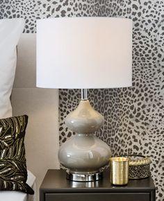 »African Glam« Tischleuchte Marie & Beistelltisch Cara by JILL & JIM DESIGNS