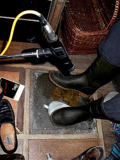pieds de bruiteur