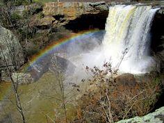 Noccalula Falls, Gadsden, Alabama.  One of our favorite family spots.
