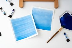 Two Types of Watercolor Washes