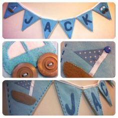 Sew Your Own personalised bunting - The Supermums Craft Fair