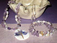 Pearl Iris Jewellery Set