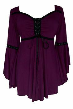 Amazon.com: Dare To Wear Victorian Gothic Women's Plus Size Ophelia Corset Top: Clothing
