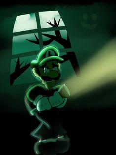 Luigi's Mansion by KetrinDarkDragon on DeviantArt Nintendo World, Nintendo Games, Green Warriors, King Boo, Weegee, Ghost House, Luigi's Mansion, Paper Mario, Mario And Luigi