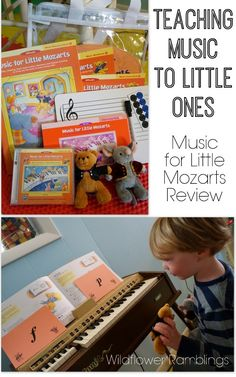 Teaching Music to Little Ones -- HOW TO DO IT?! -- Wildflower Ramblings