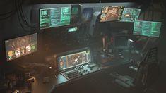 Spaceship Interior Scene, Fabian Everaert