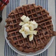 Chocolate Banana Waffles: Easy and Allergy-Friendly!