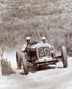 Targa Florio 1930 , Alfa Romeo P2 #30 , Driver Achile Varzi / Tabbacchi , First place overall winner.