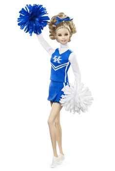 The Wildcat tradition reigns true in this spirited University of Kentucky doll. Go Blue! University of Kentucky Barbie Doll. $24.95