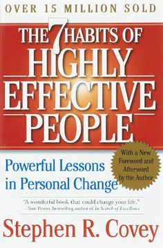 Booktopia has The 7 Habits of Highly Effective People, Powerful Lessons in Personal Change by Dr Stephen R Covey. Buy a discounted Paperback of The 7 Habits of Highly Effective People online from Australia's leading online bookstore. Highly Effective People, Reading Lists, Book Lists, Reading Books, Reading Art, Stephen Covey Books, Good Books, Books To Read, Kindle Unlimited