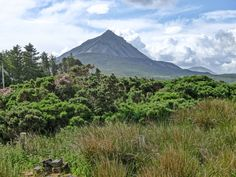 the highest point in Donegal Donegal, High Point, Mount Rainier, Ireland, Mountains, Nature, Travel, Naturaleza, Viajes