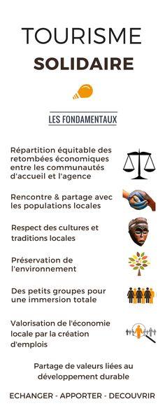 Les fondamentaux du tourisme solidaire