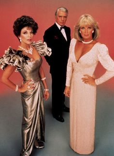 "One of the biggest shows of the 1980s was Aaron Spelling's prime time soap opera ""Dynasty."" Viewers were drawn in for its glamorous look and the show quickly began capitalizing on that success with product tie-ins."