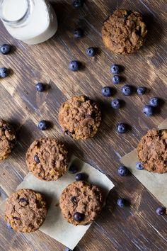 blueberry coffee cake muffins-6