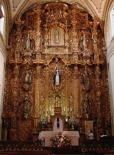 This is where I got married...Templo de Santa Rosa de Lima... Morelia, Mich, México.
