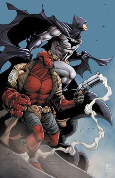 Batman and Hellboy