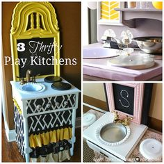 Dwellings By DeVore: Play Kitchen Roundup