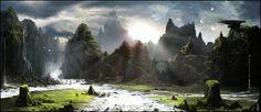 Landscape by Happy-Mutt.deviantart.com on @deviantART