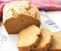 While everyone is pinning Pumpkin-Anything, you could be making our #glutenfree #dairyfree Pumpkin Quick Bread from our Recipe of the Day on Pinterest!