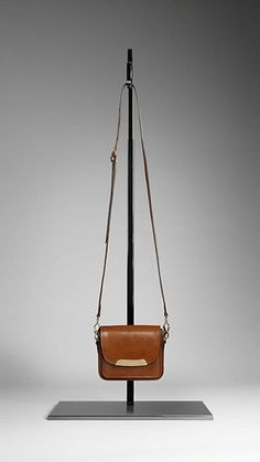 Bridle leather crossbody bag by Burberry