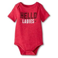 Newborn Boys' Bodysuit - Stadium Red Target Baby, Hello Ladies, My Boys, Baby Boy, Bodysuit, Lady, Newborn Boys, Clothes, Shopping