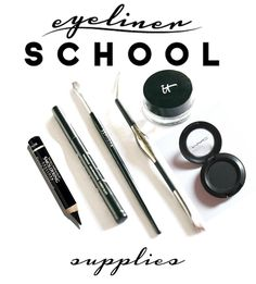 Great collection of lessons on how to apply eyeliner like a pro!